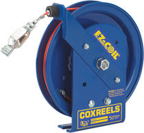 Grounding reel / cable / self-retracting / fixed