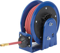 Hose reel / self-retracting / open / corrosion-resistant