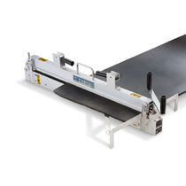 Manual shear / for conveyor belts / linear