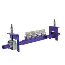 Secondary conveyor belt cleaner