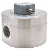 Oval gear flow meter / for water / flange