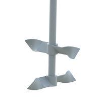 Agitator impeller / for transitional flow