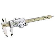 Digital caliper / stainless steel / with data output