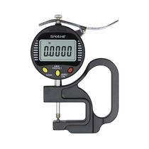 Glass thickness gauge / metal / rubber / textile