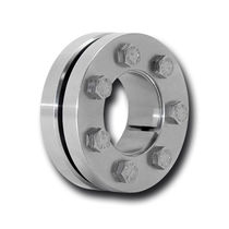 Shrink disc coupling / for shafts / stainless steel / for high torque