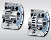 Bearing-mounted one-way clutch / full-face / sprag