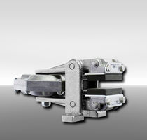 Disc brake caliper / pneumatic clamping / release spring