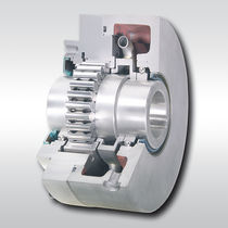 Bearing-mounted one-way clutch / full-face / high-speed / sprag