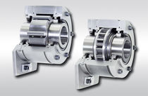 Bearing-mounted one-way clutch / roller / indexing / full-face