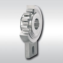 One-way roller clutch / bearing-mounted / full-face / low-speed