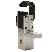 Pneumatic gripper / angular / 2-jaw / compact