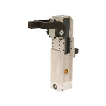 Pneumatic toggle clamp / vertical / compact / locking