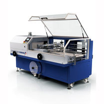 Automatic shrink wrapping machine / with sealing bar / with shrink tunnel