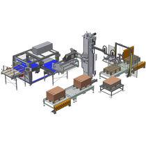 Tower palletizer / articulated / Cartesian / handling