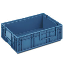 PP crate / for the automotive industry / stacking