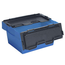 Plastic pallet box / folding / stackable / nesting