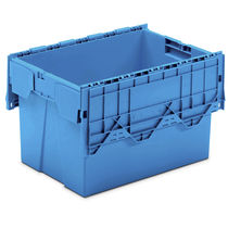 Plastic pallet box / with lid / nesting