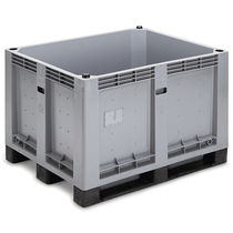 Plastic pallet box / storage / stacking / reinforced