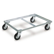 Transport cart / metal / multipurpose / with swivel casters
