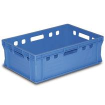 Plastic crate / storage / transport / foodstuffs