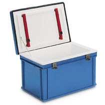 Plastic crate / with lid
