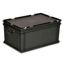 Transport case / plastic / with handle / conductive
