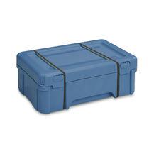 Plastic crate / transport / hazardous materials / with lid