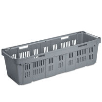 Plastic crate / perforated