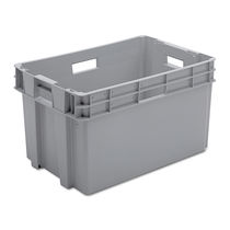 Plastic crate / transport / stackable / nesting