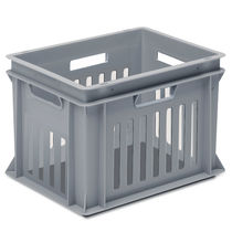 PP crate / stacking / with handles