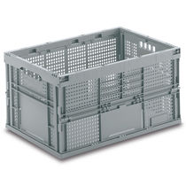 PP crate / folding / perforated