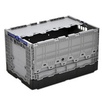 Polypropylene crate / transport / with lid