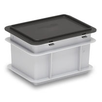 Stackable container cover