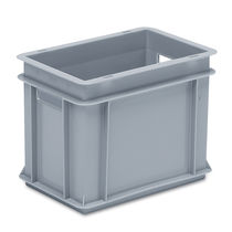 Polyethylene crate / stacking / with handles / large