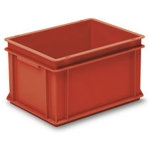 PP crate / stacking / with handle