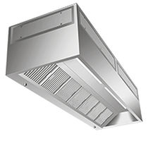 Ceiling-mount extractor hood