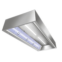 Ceiling-mounted air purifier / UV light