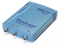Mixed-signal oscilloscope / portable / 2-channel / high-resolution