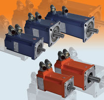 DC servomotor / brushless / industrial / permanent magnet