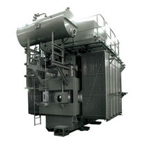 Power transformer / immersed / oil-filled / padmount