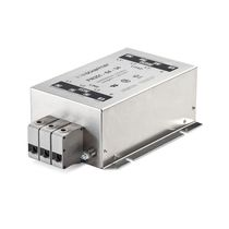 Power EMI filter / three-phase / common mode / IEC inlet