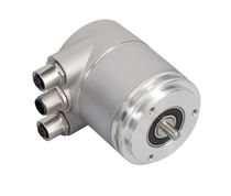 Absolute rotary encoder / EtherCAT / solid-shaft