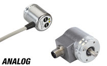 Absolute rotary encoder / magnetic / analog / non-contact