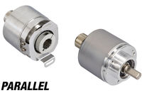 Absolute rotary encoder / parallel