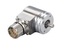 Absolute rotary encoder / solid-shaft / programmable