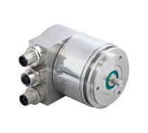 Absolute rotary encoder / magnetic / Powerlink / solid-shaft