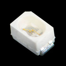 White LED / round / subminiature / SMD