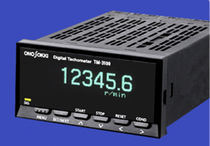 Non-contact tachometer / panel-mount / with LED display / frequency measurement