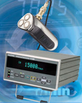 Non-contact tachometer / benchtop / digital / FFT
