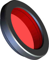Red optical filter